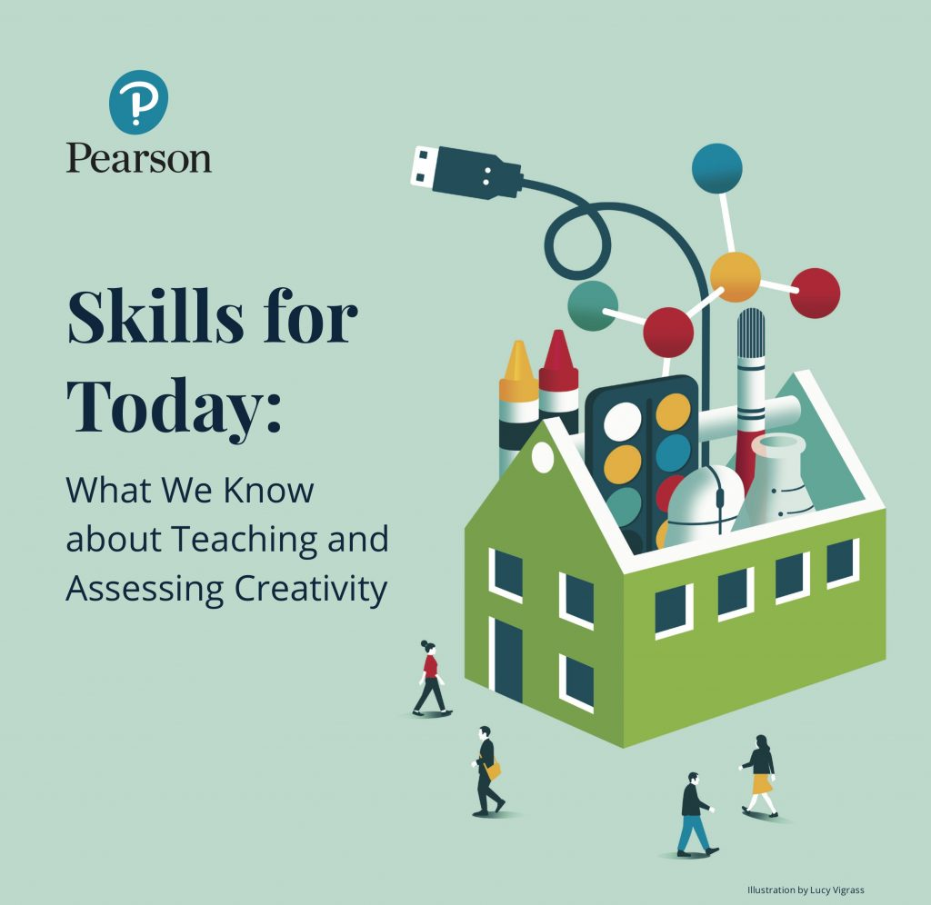 "Buchcover ""Skills for Today: What We Know about Teaching and Assessing Creativity"""