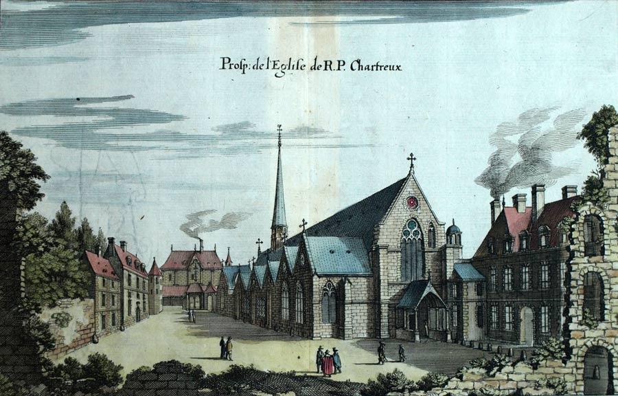 Das Karteuser-Konvent 'Chartreuse de Paris' um 1600